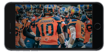 BC Lions EXP 360 VR