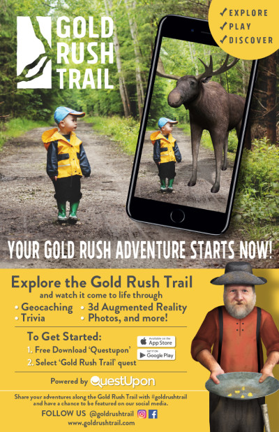 Gold Rush Trail Poster