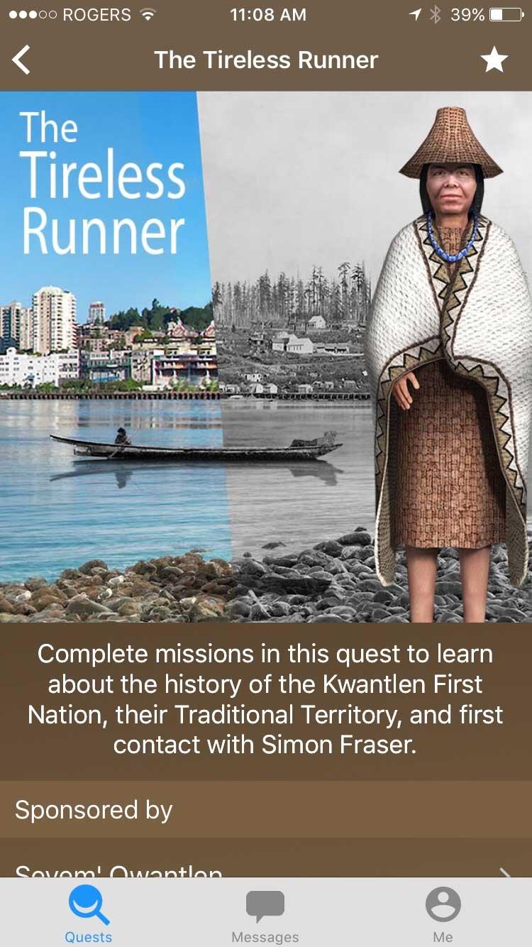 tireless runner quest